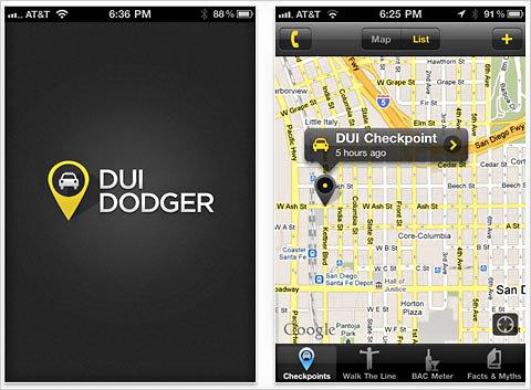 dui dodger app